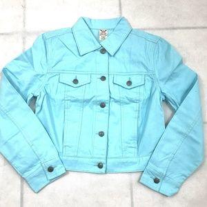 Womens Classic Denim Jean Jacket  Size X-Small
